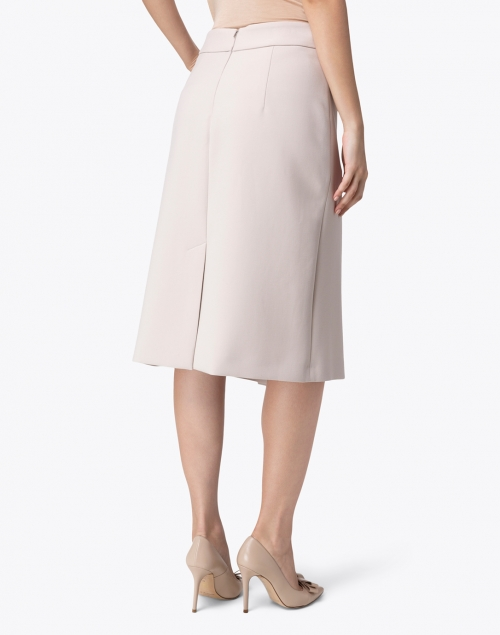 Peserico - Beige Front Buttons Skirt