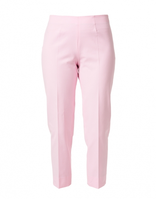 Piazza Sempione Audrey Light Pink Stretch Cotton Pant