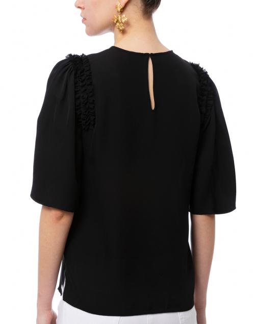 Kobi Halperin - Coleen Black Silk Blouse