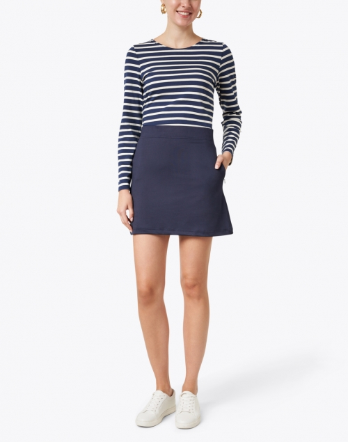 Gretchen Scott - Navy Jersey Skort