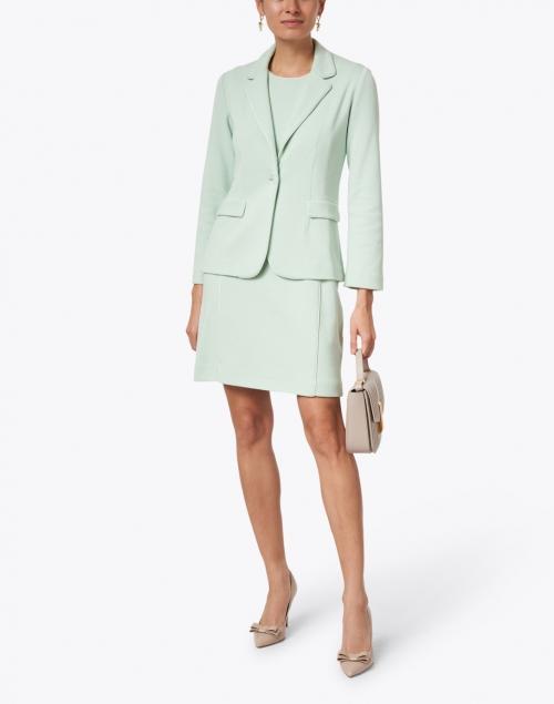 Amina Rubinacci - Elfo Green Cotton Knit Dress