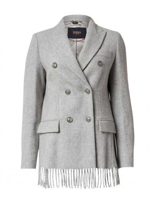 Seventy - Grey Mixed Wool Cloth Blazer