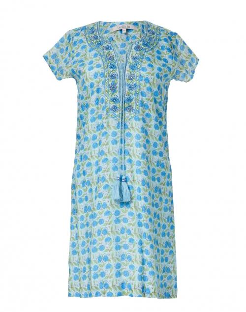 Bella Tu - Kelly Blueberry Floral Printed Dress
