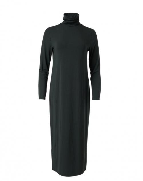 Eileen Fisher -  Ivy Green Fine Stretch Jersey Knit Dress