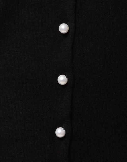 Cortland Park - Black Cashmere Pearl Cardigan