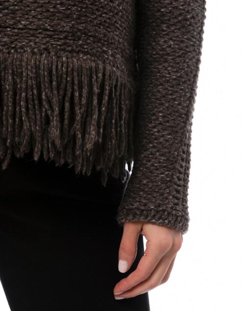 Tonet - Brown Wool Cotton Sweater