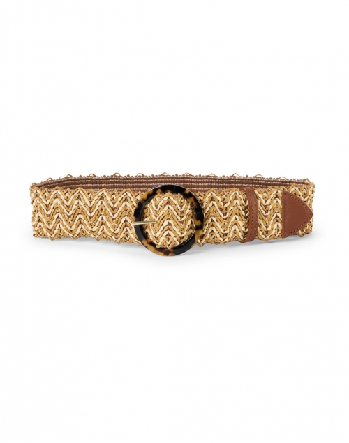 Weekend Max Mara - Salice Tobacco Brown Woven Belt