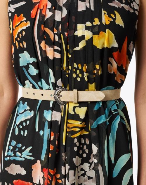 Veronica Beard - Laia Cappuccino Leather Belt