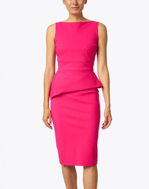 Chiara Boni La Petite Robe - Keleigh Pink Stretch Jersey Dress