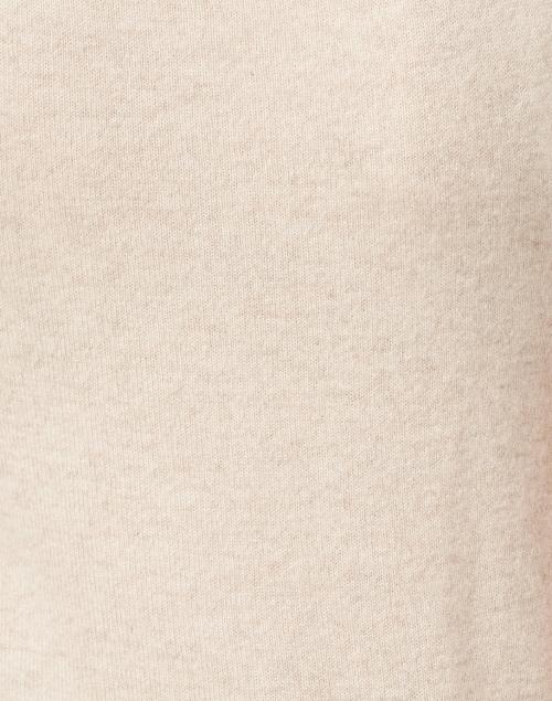Veronica Beard - Mahaley Oatmeal Cashmere Shell