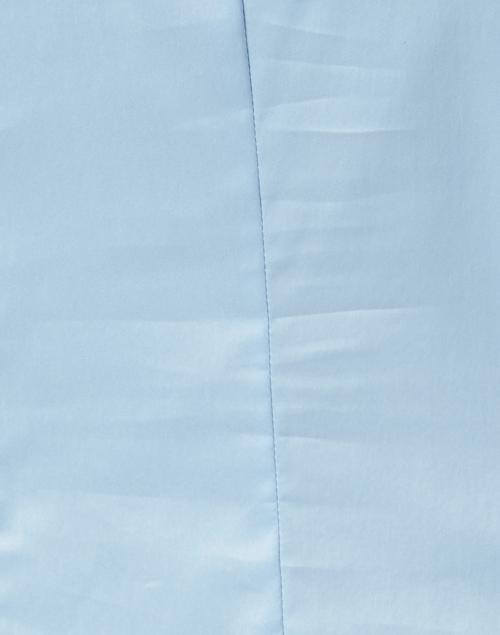 BOSS Hugo Boss - Bashini Light Blue Stretch Cotton Poplin Blouse