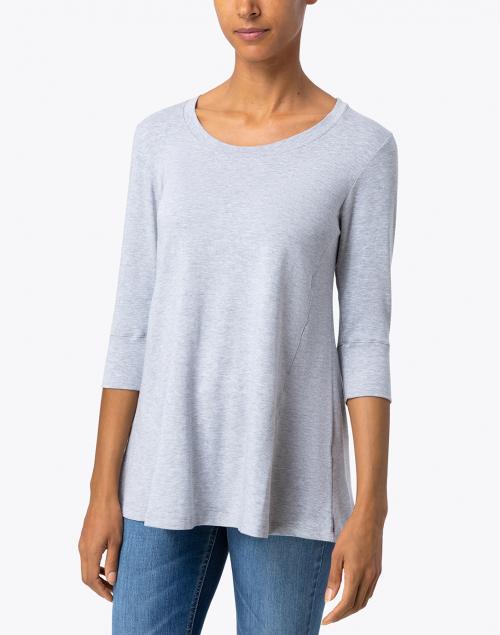 Southcott - Light Grey Bamboo Cotton Tunic