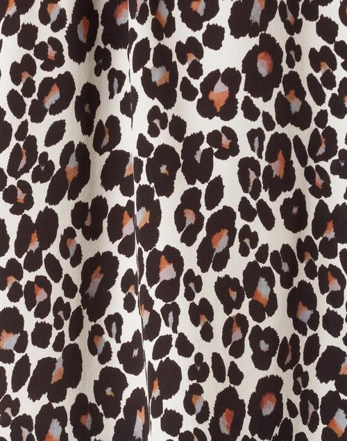 Marc Cain - Brown Animal Print Blouse