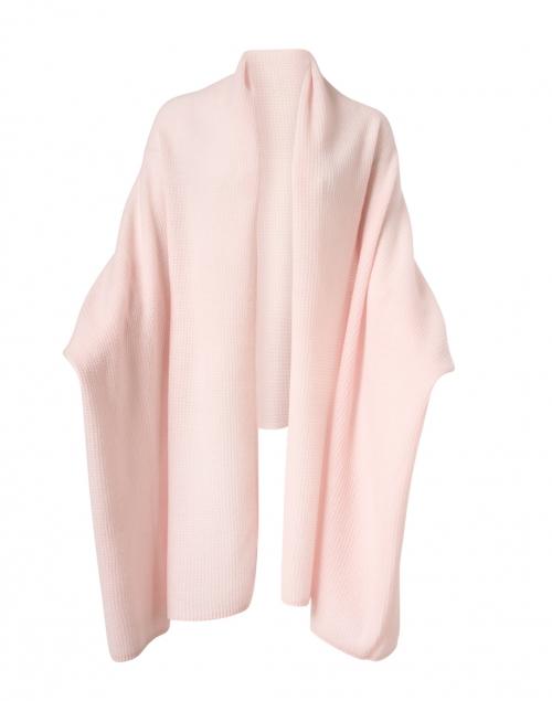 White + Warren Soft Blush Cashmere Thermal Knit Wrap