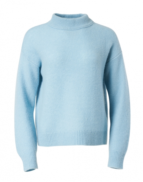 Margaret O'Leary - Dauphine Blue Silk Cashmere Sweater
