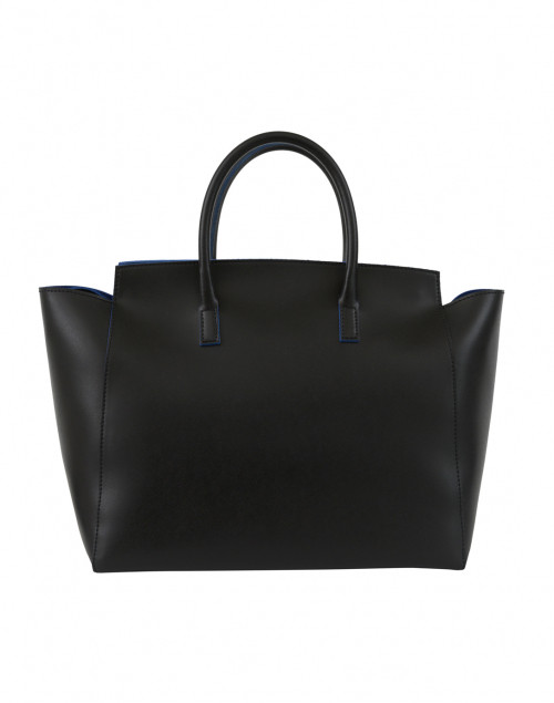 Alexandra de Curtis - Loren Black Leather Tote