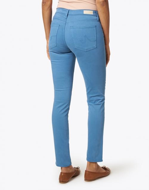 AG Jeans - Prima Laguna Blue Stretch Sateen Cigarette Jean