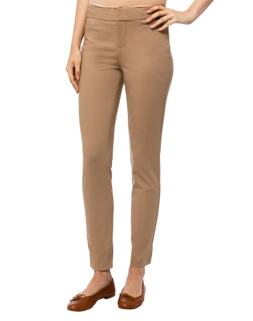 Ecru - Madison Camel Stretch Viscose Pant