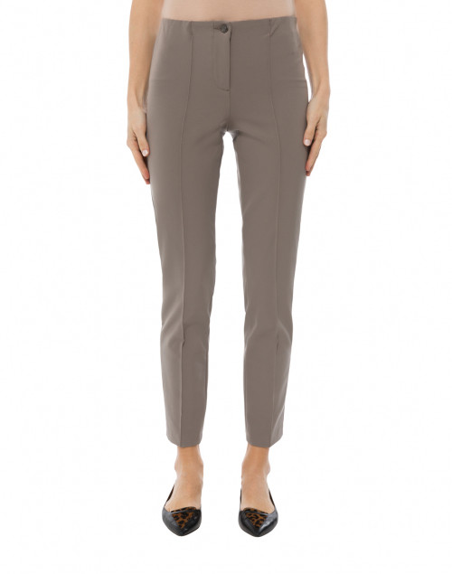 Cambio - Ros Taupe Techno Stretch Pant