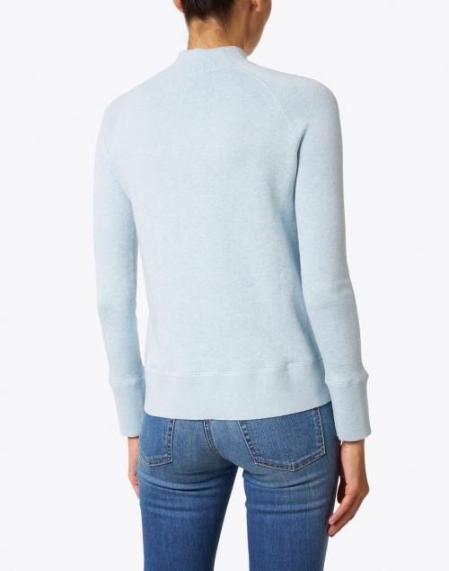 Kinross - Haze Blue Cotton Cashmere Sweater