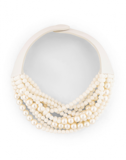 Fairchild Baldwin - Marcella Matte White and Pearl Necklace