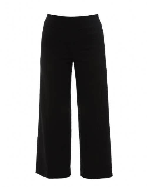 Fabrizio Gianni - Black Cropped Wide Leg Techno Stretch Pant