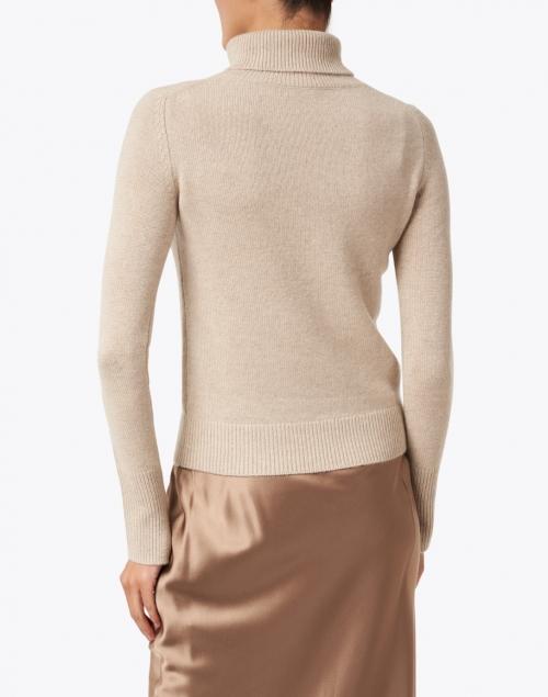Joseph - Blush Beige Cashmere Turtleneck Sweater