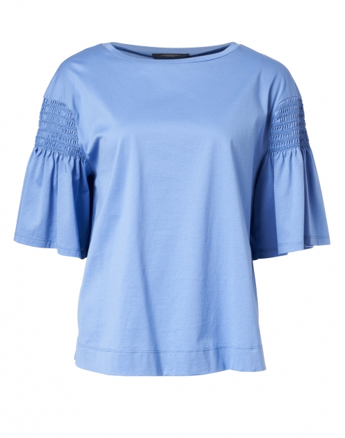 Weekend Max Mara - Vanesio Blue Cotton Top