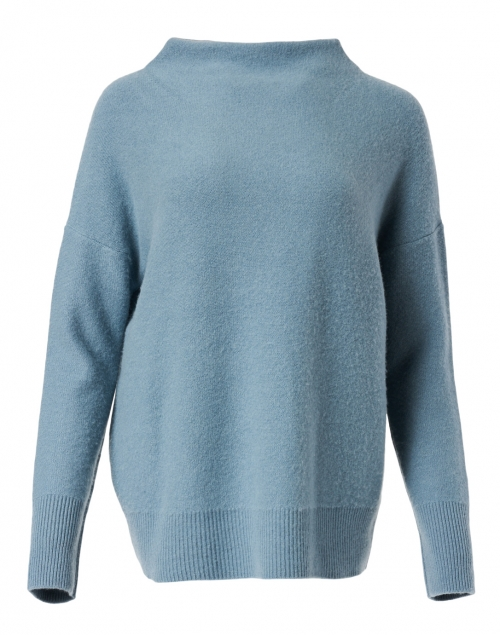 Vince Blue Boiled Cashmere Sweater