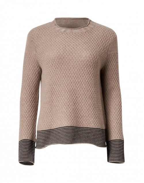 Lisa Todd - Honeycomb Hazelnut Cashmere Sweater
