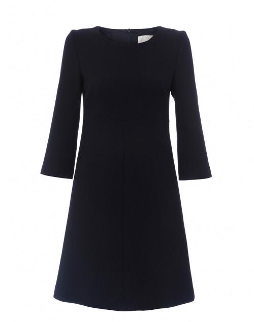 Goat - Halo Dark Navy Wool Crepe Tunic Dress