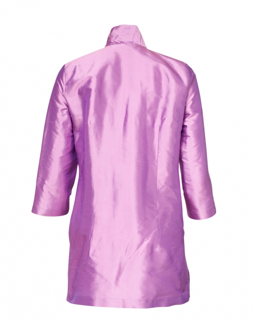Connie Roberson - Rita Lily Purple Silk Jacket