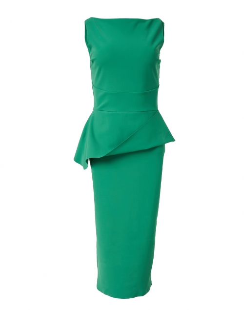 Chiara Boni La Petite Robe - Keleigh Green Stretch Jersey Dress
