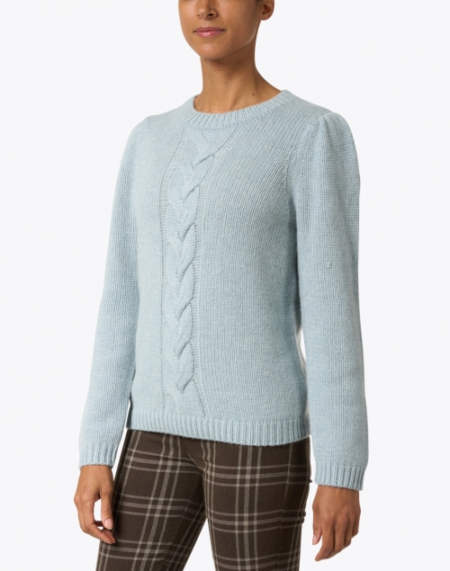 Repeat Cashmere - Aqua Cashmere Sweater