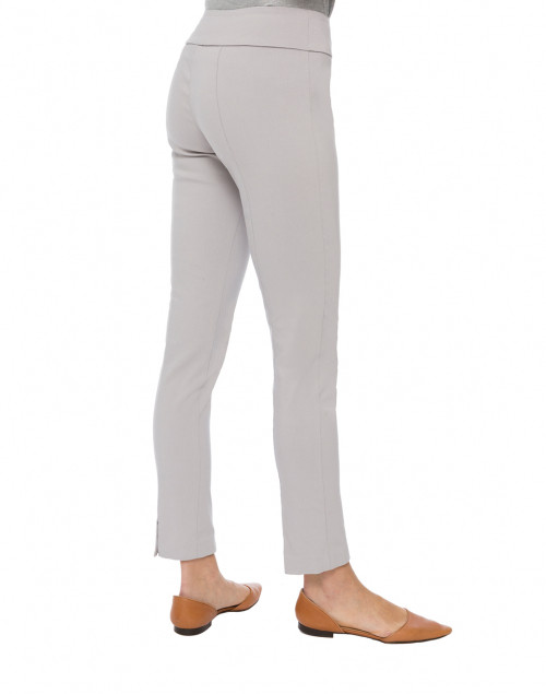 Elliott Lauren - Silver Control Stretch Pull On Ankle Pant