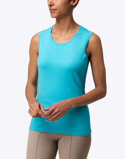 J'Envie - Azure Blue Knit Top