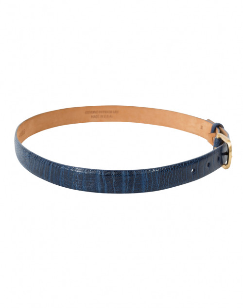 W. Kleinberg - Pacific Blue Ostrich Belt