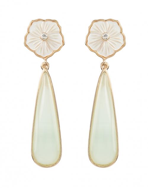 Mignonne Gavigan - Flora Mother of Pearl Stone Drop Earrings