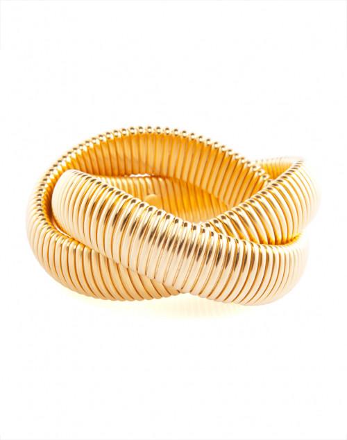 Janis by Janis Savitt Gold Twist Cobra Bracelet