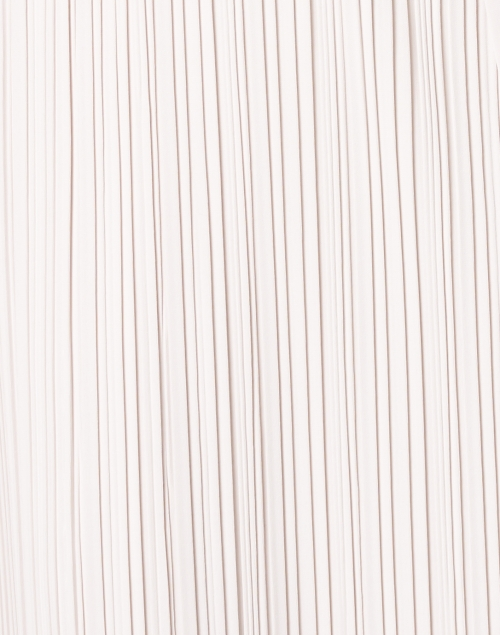 Max Mara Leisure - Bacco Ivory Plisse Tunic