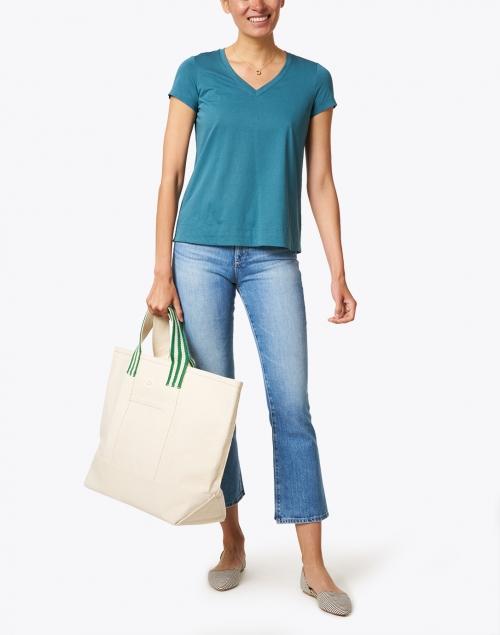 Loeffler Randall - Bodie Natural Canvas Packable Tote Bag