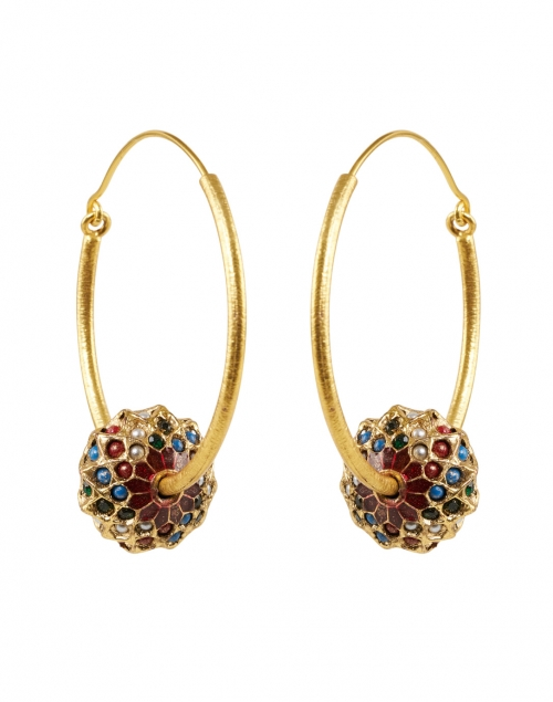 Megan Park - Arti Multi and Gold Hoop Earring