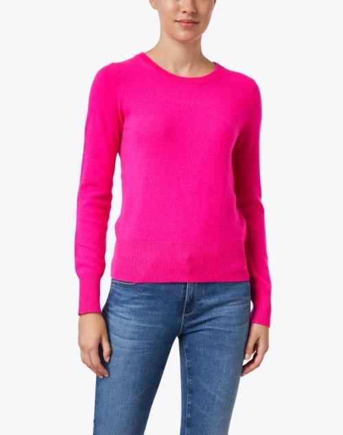 White + Warren - Radiant Pink Cashmere Sweater