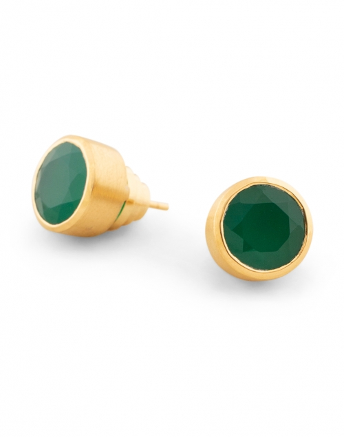 Dean Davidson - Green Onyx Signature Knockout Stud Earrings