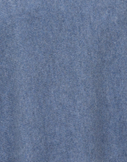 Minnie Rose - Heathered Blue Cashmere Ruana