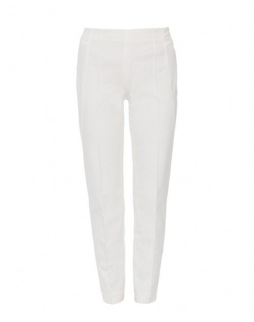 Escada Tuska Off-White Stretch Slim Pant