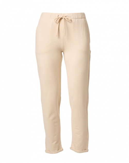 Majestic Filatures Cream French Terry Drawstring Jogger