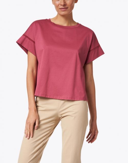Weekend Max Mara - Palma Pink Cotton Top