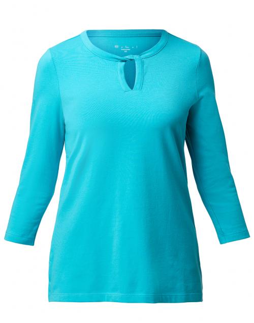 E.L.I. - Azure Blue Cotton Top