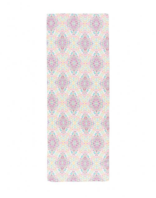 Leggiadro - Kaleidoscope Print Silk Scarf